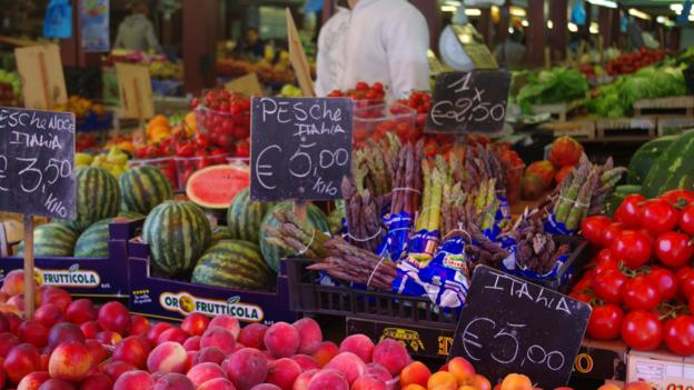 Ventimiglia's Mercado Coperto (Credit: Katie Beck)