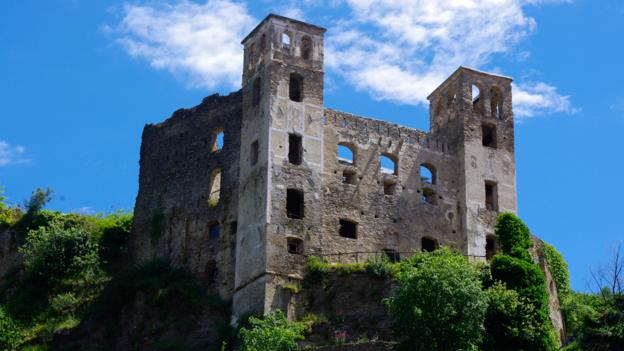 Dolceacqua's 12th-century Doria Castle (Credit: Katie Beck)