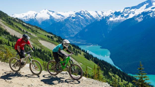 Steep descents (Credit: Tourism Whistler/Mike Crane)