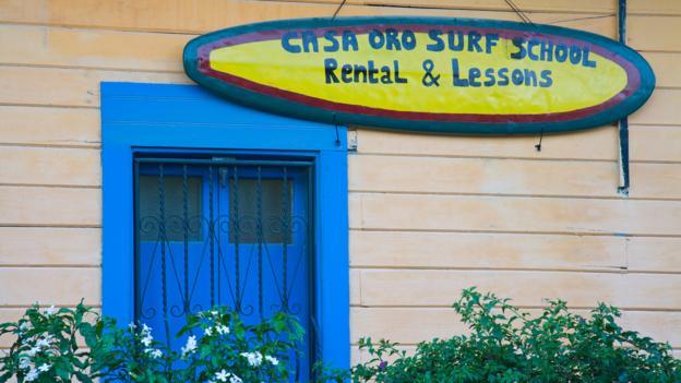 Surf school (Credit: Richard Cummins/Getty)