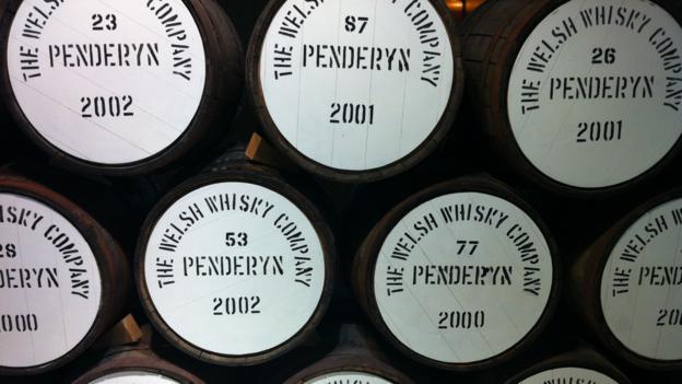 Penderyn distillery (Credit: Luke Waterson)