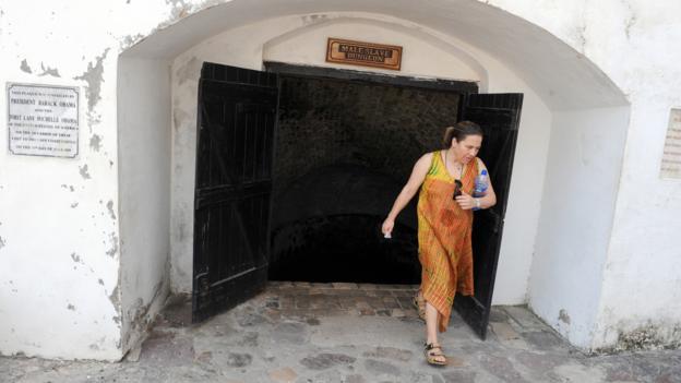 Door of No Return (Credit: AFP/Getty)