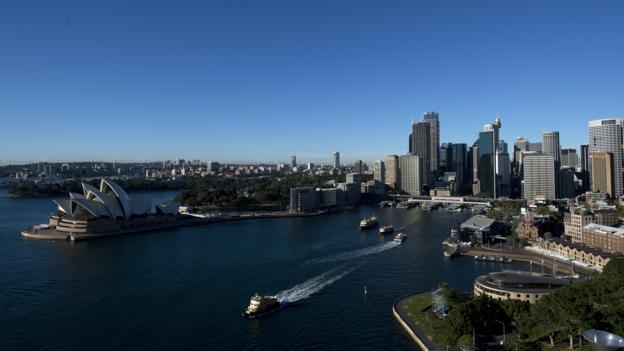 Sydney's green shoots (Credit: Saeed Khan/Getty Images)