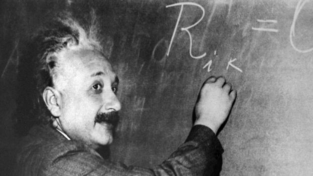 Albert Einstein was the author of theory of relativity. (Getty Images)