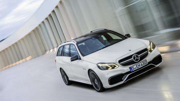 The cross-continent missile: Mercedes-Benz AMG E63 Wagon (Credit: Mercedes-Benz USA)