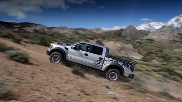 The mud wrestler: Ford SVT Raptor (Credit: Ford Motor)
