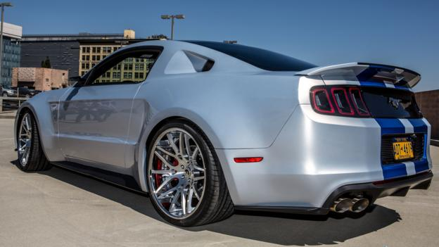 Ford mustang need for speed body kit