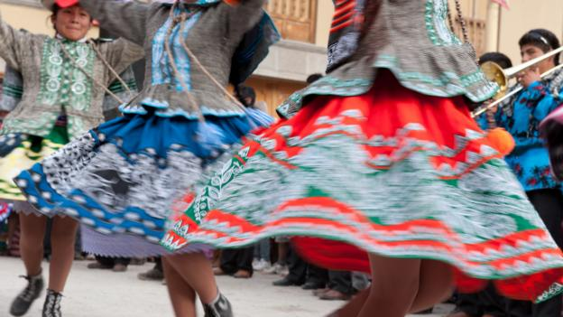 The Pentecost celebration in Ollantaytambo (Credit: Panoramic Images/Getty)