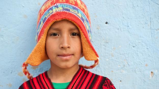 A young Peruvian in Ollantaytambo (Credit: hemis.fr/Getty)