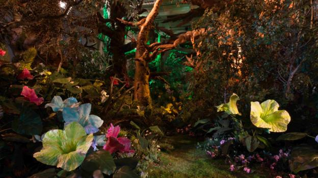 Into the woods (Credit: Park Avenue Armory)