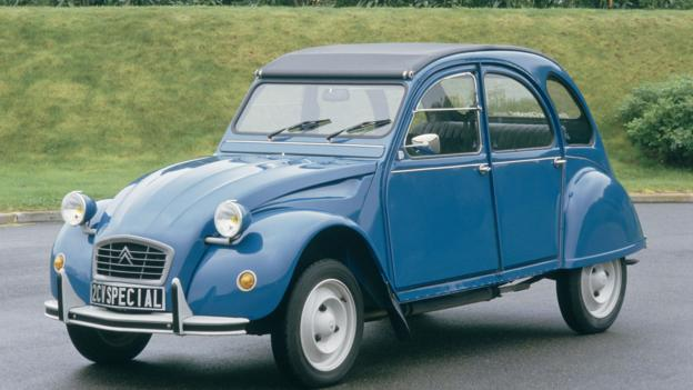 Chrysler's inspiration for the CCV, the Citroën 2CV (Credit: Citroën)