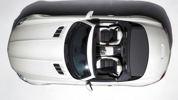 Mercedes-Benz SLS AMG Roadster (Credit: Daimler)