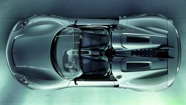 Porsche 918 Spyder Concept (Credit: Porsche)