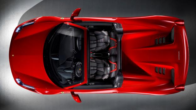 Ferrari 458 Spider (Credit: Ferrari)