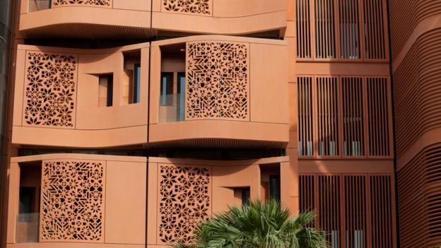 Masdar City (Credit: Tony Burns/LPI/Getty)