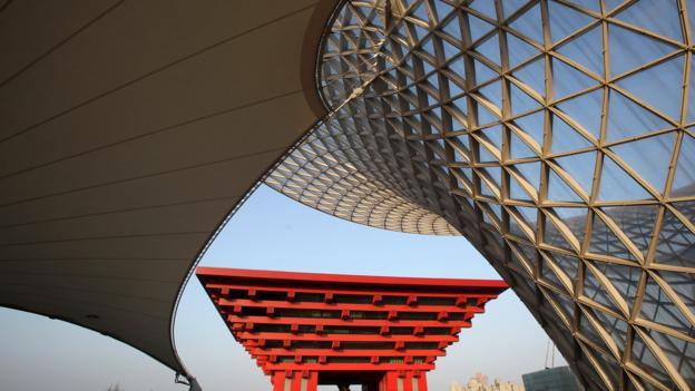 Shanghai's China Pavilion (Credit: Feng Li/Getty)