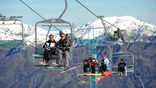 Mountain rides in El Colorado (Credit: AFP/Getty Images)