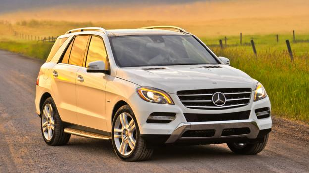 Mercedes-Benz ML350 BlueTEC (Credit: Daimler)