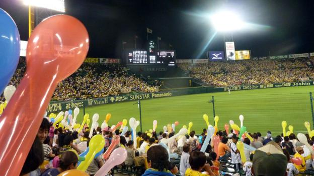 A game at Hanshin Koshien Stadium (Credit: Brad Cohen)