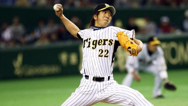 Pitcher Kyuji Fujikawa (Credit: Junko Kimura/Getty)