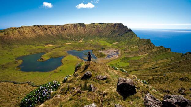 Landscapes of Corvo (Credit: visitazores.com)