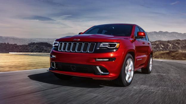 2014 Jeep Grand Cherokee SRT (Credit: Chrysler Group)