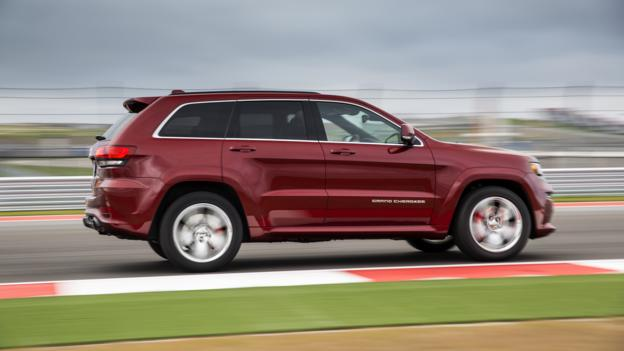 2014 Jeep Grand Cherokee SRT (Credit: Chrysler Group)