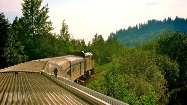 The Jasper to Prince Rupert train (Credit: John Lee)