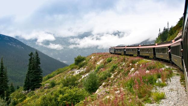 The White Pass and Yukon Route Railroad (Credit: Bert Hoferichter/Getty)
