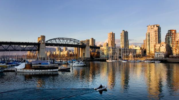 Scenic Vancouver, British Columbia (Credit: Getty Images)