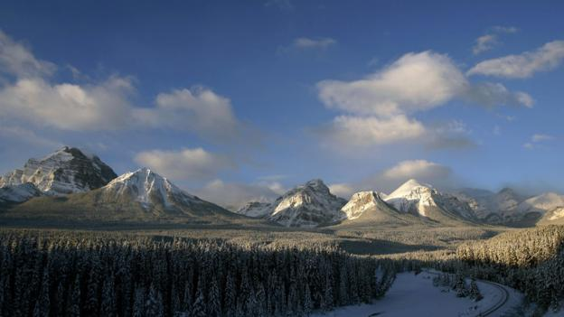 The Canadian Rockies, Banff National Forest (Credit: Jeff Haynes/AFP/Getty Images)