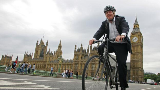 Boris Johnson, London mayor (Credit: Geoff Caddick/AFP/Getty Images)