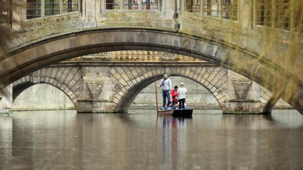 Cambridge's ancient sights (Credit: Getty Images)