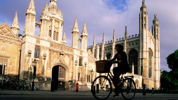 King's College, Cambridge (Credit: Eurasia/Getty)