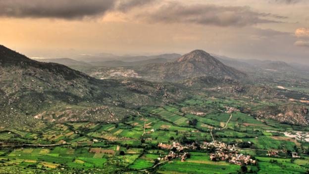 An aerial view of Nandi Hills (Credit: Rajesh Vijayarajan/Getty)