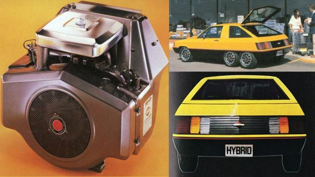 1980 Briggs & Stratton Gasoline/Electric Hybrid (Credit: Briggs & Stratton)