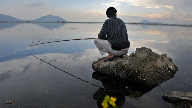 Dal Lake (Credit: Tauseef Mustafa/AFP/Getty)