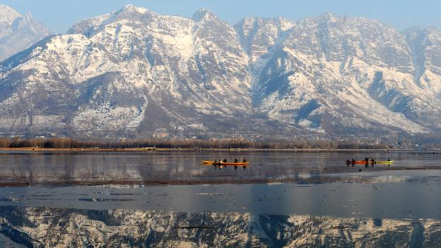 Dal Lake (Credit: Rouf Bhat/AFP/Getty)