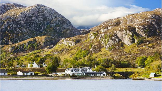 Scottish hideaway (Credit: Pool House)