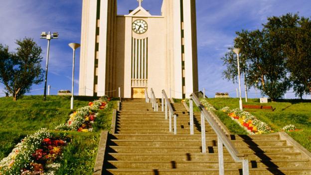 Imposing Akureyrarkirkja Church (Credit: Travel Ink/Getty)