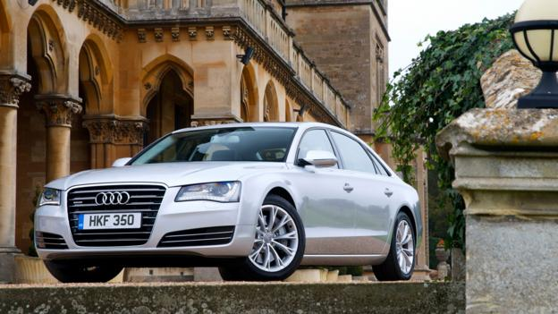 2014 Audi A8 L TDI (Credit: Audi)