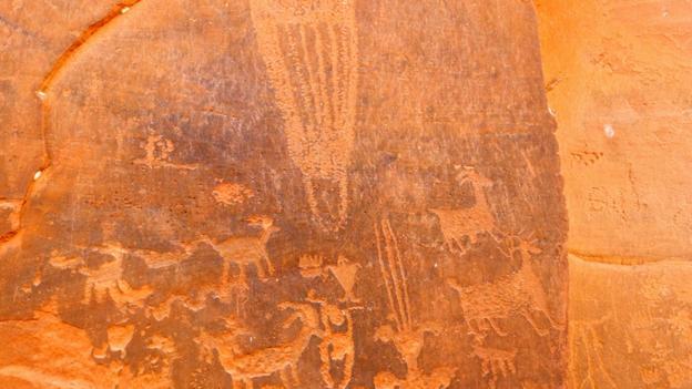 Ancient art (Credit: Kiran Herbert)