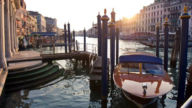 A water taxi on the Grand Canal (Credit: Ian Gavan/Getty)