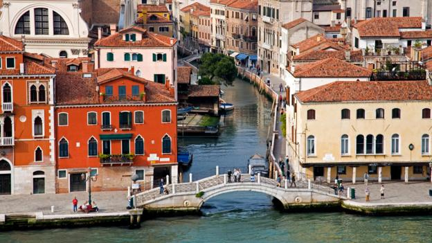 The Canal Della Giudecca in Dorsoduro (Credit: Richard Cummins/Getty)
