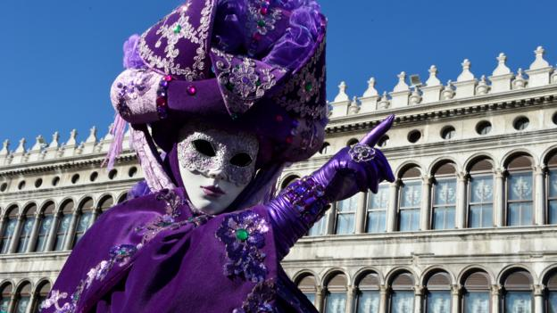 The Carnival of Venice (Credit: Vincenzo Pinto/AFP/Getty)