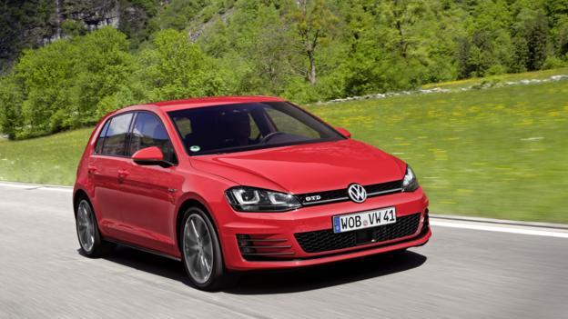 Volkswagen Golf GTD (Credit: Volkswagen Group)