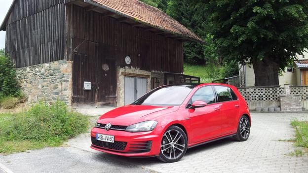 Volkswagen Golf GTD (Credit: Jonathan Schultz)