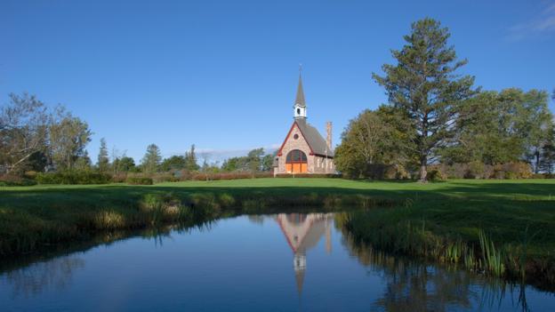 Acadian Church, Grand Pre (Credit: Thomas Kitchin&Victoria Hurst/Getty)