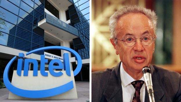Andrew Grove of Intel Corporation (Credit: Getty)