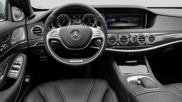 2014 Mercedes-Benz S63 AMG 4Matic (Credit: Mercedes-Benz USA)